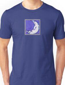Moon Dolphin Unisex T-Shirt