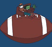 American Football by Thomas Orrow