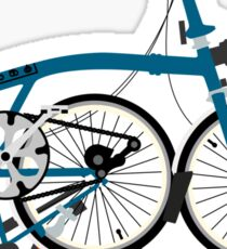 Brompton Folding Bike Sticker