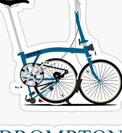Brompton Folding Bike Sticker