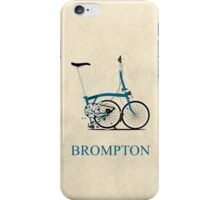 Brompton Folding Bike iPhone Case/Skin