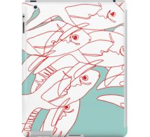 The Salmon Are Here iPad Case/Skin