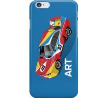 Art Car (blue) iPhone Case/Skin