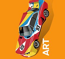 Art Car (orange) by robgould1972