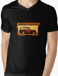 SURF COCOA BEACH Mens V-Neck T-Shirt