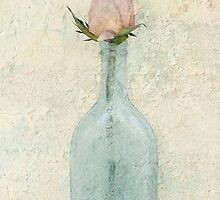 Rose Bottle by Barbara Ingersoll