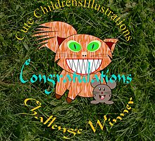 Cute Childrens Illustrations - Challenge Banner by Dennis Melling