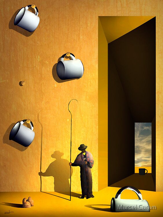 O Colecionador de Xícaras. by Marcel Caram