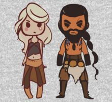 Daenerys and Drogo  by Lou  Wilson