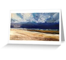 storm rolling in Greeting Card