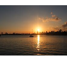 Miami Sunset Photographic Print