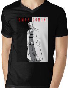Omar Comin' Mens V-Neck T-Shirt