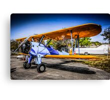 WWII US Army Air Corp PT-17 Steerman training Plane Canvas Print