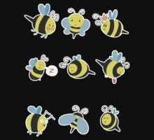 Nine Cute Little Bumblebees Kids Clothes