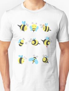 Nine Cute Little Bumblebees T-Shirt