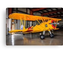 PT17 Stearman Bi-Plane Canvas Print