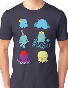Six Cute Little Octopus Unisex T-Shirt