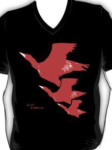 Persona 4 Yosuke Hanamura shirt (red birds) T-Shirt
