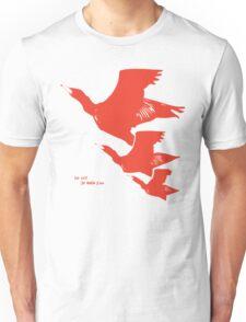 Persona 4 Yosuke Hanamura shirt (red birds) Unisex T-Shirt