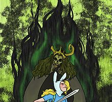 FIONNA AND THE LICH #1 by sharo