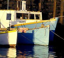 Fishing boats by Karl  Zielke