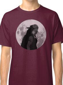 Mononoke black and white moon Classic T-Shirt