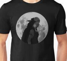 Mononoke black and white moon Unisex T-Shirt