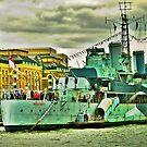 HMS Belfast by andonsea
