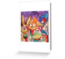 starfox crew Greeting Card