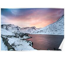 Llyn Ogwen Sunset by Smart Imaging Poster