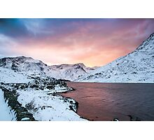 Llyn Ogwen Sunset by Smart Imaging Photographic Print