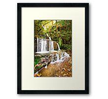 Autumn Falls by Smart Imaging Framed Print
