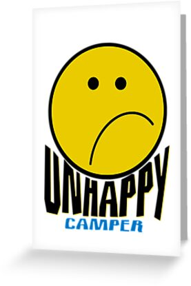 Unhappy Camper by SandraWidner