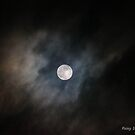 Moonlight through the storm clouds by Rainydayphotos