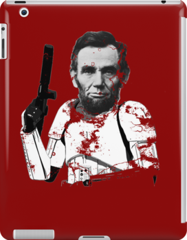 Abraham Lincoln Stormtrooper (without text) by MrPeterRossiter