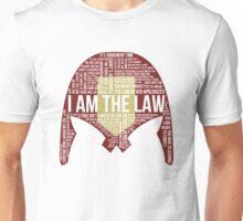 Judge Dredd Typography Unisex T-Shirt