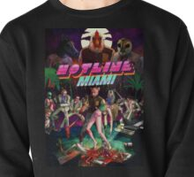 Hotline Miami Cover Pullover
