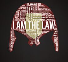 Judge Dredd Typography by Matthew James