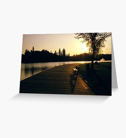 Horlack park Edmonton Greeting Card