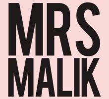 Mrs. Zayn Malik by Tom Sharman