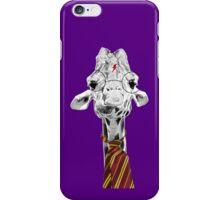 Harry Potter Giraffe Purple iPhone Case/Skin