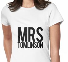 Mrs. Louis Tomlinson Womens Fitted T-Shirt