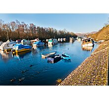 Balloch Boats Photographic Print