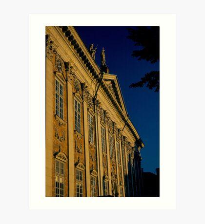 Parliment building Sweden Stockholm Art Print