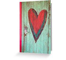 Door to your Heart Greeting Card