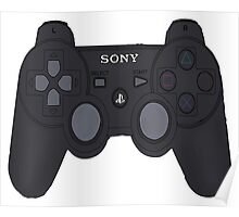 Playstation 3 Controller Poster