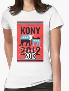 Kony 2013 Womens Fitted T-Shirt