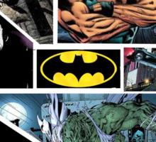 Batman: Heroes and Villains Sticker