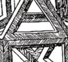 DaVinci's Polyhedra Sticker