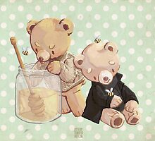 honey bees and holmes bears by butterbear